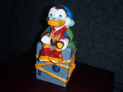 Extremely Rare! Walt Disney Uncle Scrooge on Vault Old Piggy Bank Statue