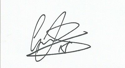 A 5 x 3 inch white card. Personally signed by Graham Dorrans of Norwich City.