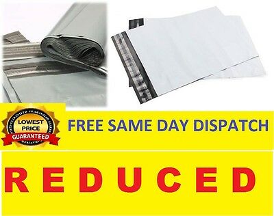 Grey Mailing Bags Strong Poly Postal Postage Post Mail Self Seal All Sizes SALE