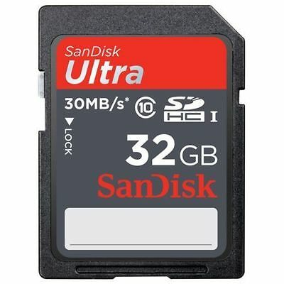 100%Genuine SanDisk Ultra 32gb SD Card SDHC SDXC Memory Card Class 10 32 GB