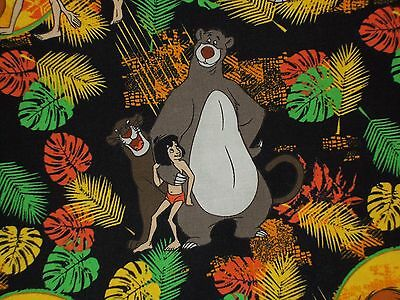 Disney Jungle Book Quilting Fabric by Camelot Fabrics 100% Cotton 85220103 01