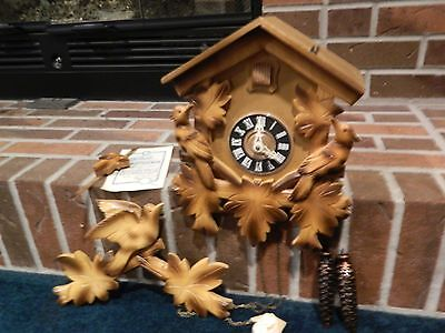 Antique Cuckoo Clock Gebhardt 1966 New • £1,577.29