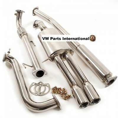 VW Polo 6R MK5 1.2 Performance Cat back Exhaust System