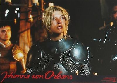 THE MESSENGER - The Story of Joan of Arc - Lobby Cards Set - Milla Jovovich