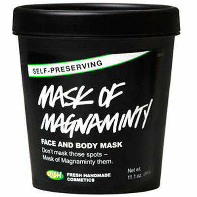 Lush Mask Of Magnaminty Self-preserving 315g Face & Body Mask DATED 09/12/2016