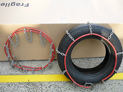 Snow Chains Stock Clearance Size 070  ONLY $59 PAIR -Negiligble Wear Used twice
