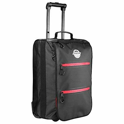 Aquabourne Danube Water Resistant Hand Luggage Trolley Suitcase 54x36x20cm