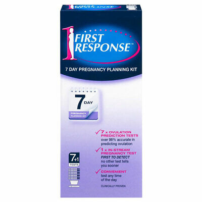 * First Response Pregnancy Planning 7 Day Ovulation Test Kit 8  Tests