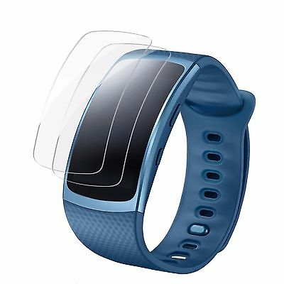 2 Pcs Full Ultr Film Screen Protector for Samsung Gear Fit 2