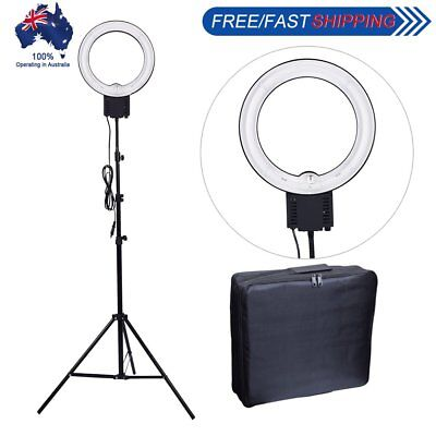 Studio 40W 5400K Fluorescent Ring Lamp Light + 2M Stand + Carry Bag