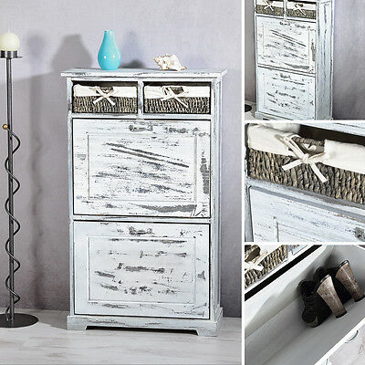 d nisches bettenlager kommode schuhschrank shabby chic eur 40 00 picclick de. Black Bedroom Furniture Sets. Home Design Ideas