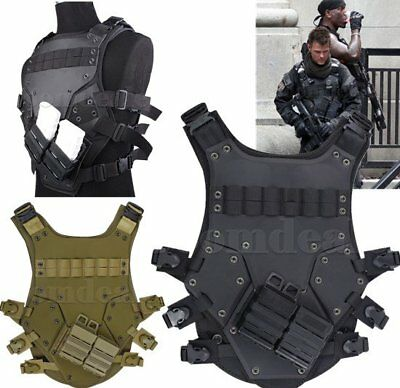 CS Vest TMC Protective Tactical Airsoft Cosplay TF3 Vest Hunting Adjustable