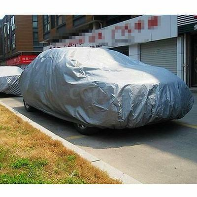 Mid-size Waterproof Layer Full Car Cover Breathable Dust UV Protection Outdoor