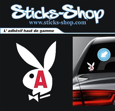Sticker A apprenti jeune conducteur FUN PLAYBOY decals aufkleber auto moto B125