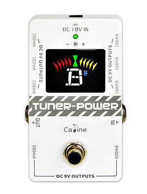 Caline CP-09 power supply/Pedal Tuner.
