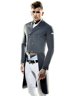 Animo Mens Dressage Tails Frac brand new grey  i-52 uk42