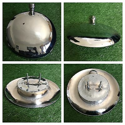 "Vespa Gas Tank Reserve 8"" Chrome Vespa Vba Vbb Vnb Vna Sportique Sears Allstate"