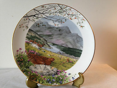 Royal Worcester September On The Moors By Peter Barrett Limited Edition