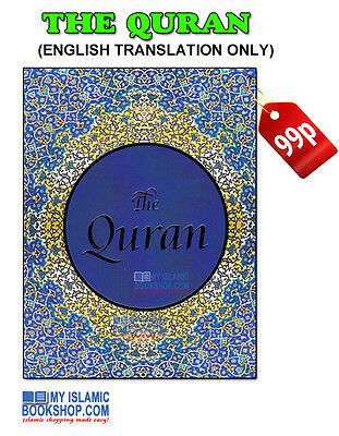 The Quran - English Translation only - Pocket Size Qur'an Koran Book Gift Ideas