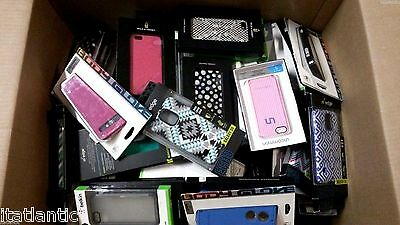 Lot of 100 Assorted Phone Cases for iPhones - Retail Value $2000.00