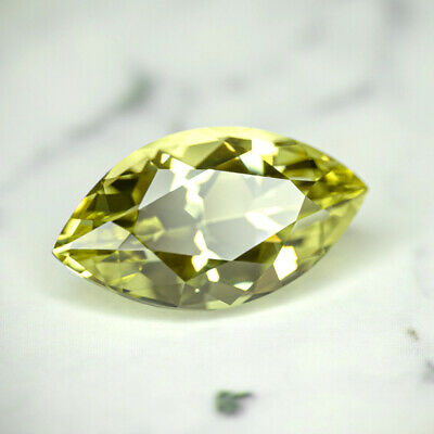 APATITE-MEXICO 4.55Ct FLAWLESS-FOR TOP JEWELRY-INTENSE YELLOW GREEN CLR-LOOK!