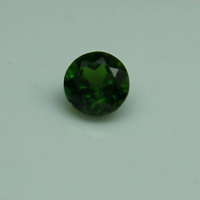 Chrome Diopside 5mm 0.60 TCW Faceted Round Loose Gemstone