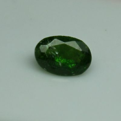 Chrome Diopside Faceted Oval Loose Gemstones Varying Size & TCW