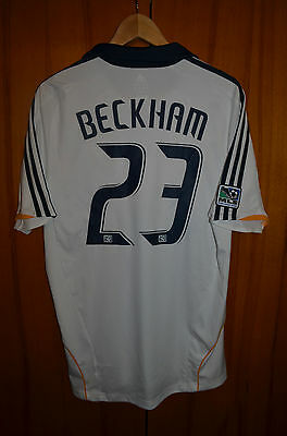 Los Angeles Galaxy 2008/2009 Home Football Shirt Jersey Adidas Beckham #23