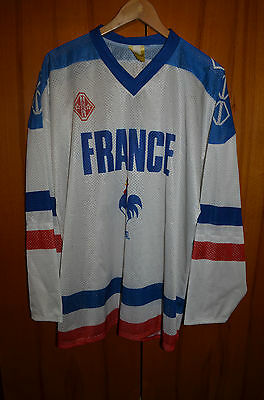 France National Team Ice Hockey Shirt Jersey Maglia Tackla #22 Vintage