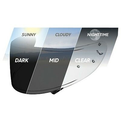 Shoei CWR-1 Transitions Photochromatic Self Tinting Visor for NXR