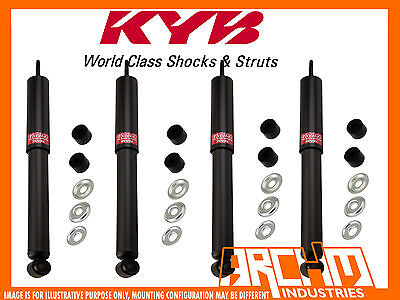 Mitsubishi Pajero Np Diesel 11/2002-10/2006 Front & Rear Kyb Shock Absorbers