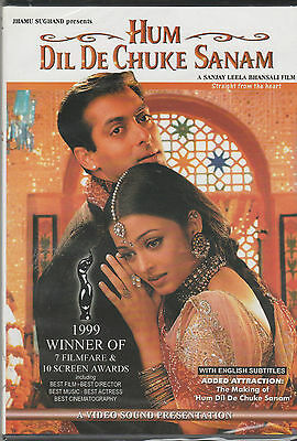 hum dil De Chuke sanam - salman Khan   [Dvd] 1st Edition Video Sound Released