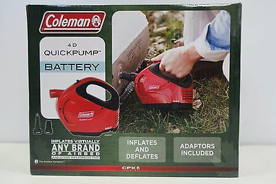 New Coleman Quickpump Battery Cpx6