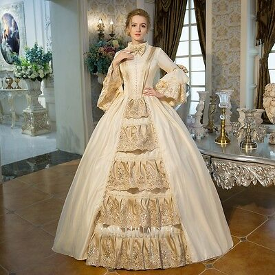 18th Baroque Rococo Renaissance Queen Prom Dresses Ball Gown Antoinette Costume