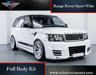 Range Rover Sport Wide Full Body Kit L320 Conversion Tuning