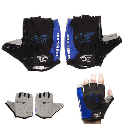 New Breathable Cycling MTB Bike Bicycle Sports GEL Pad Half Finger Gloves M-XL
