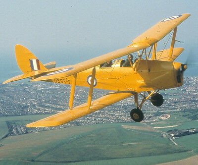 Tiger Moth 20 Minute Flight - Flying Lesson - valid min. 9 months from issue