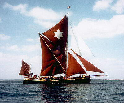 Vintage Barge Sailing for Two - Sailing on a Historic Barge - valid 9+ months