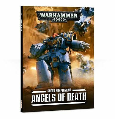 Angels Of Death Codex Space Marines Supplement - Warhammer 40,000 Games Workshop
