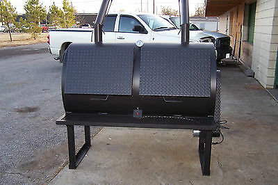 3660 Rotisserie BBQ Grill, Smoker, Cooker on Legs by HEARTLAND COOKERS