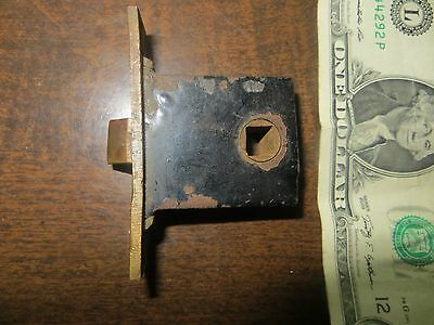 Small vintage mortise latch - possibly used on furniture
