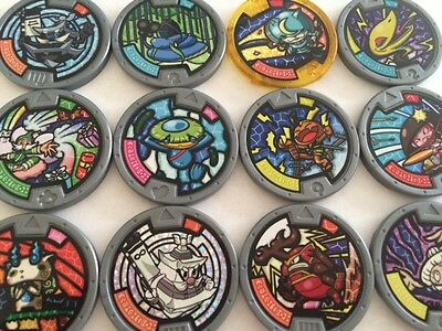 Yo-Kai Yokai Watch Series 1 Medals - Pick From List - 85P 1St Class Comb Ship