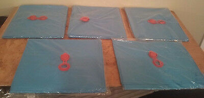 5 PACK 10' Single Chamber Pool Winter Ballast Water Tubes New For Winter Cover #