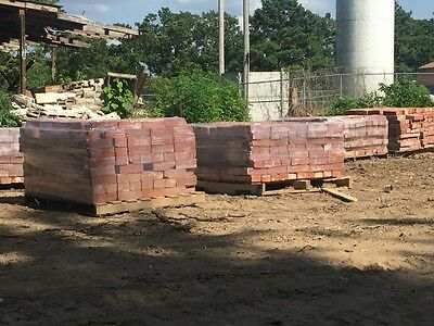 Antique Red Clay Bricks