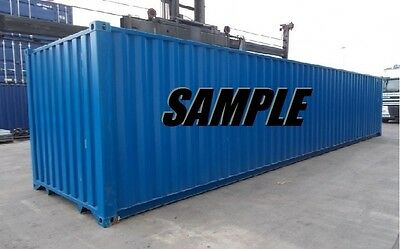 45ft HC Shipping Container Storage Container in New York, NJ