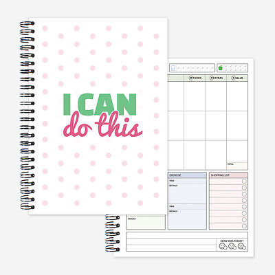 Food Diary, slimming world compatible. 3 month diet journal/tracker/log book