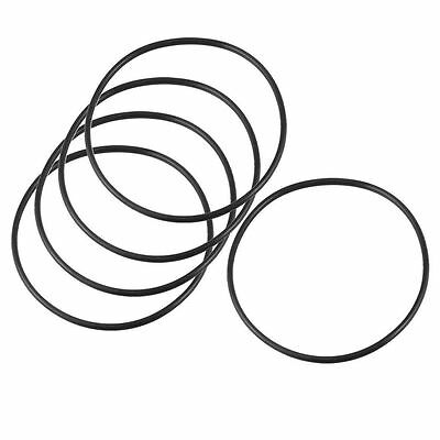 115mm x 3.5mm x 108mm Rubber Sealing Oil Filter O Rings Gaskets 5 Pcs 1 rating