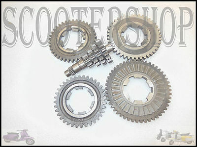 Lambretta Brand New  Gp 200 Complete Gearbox Gears And Cluster Sil
