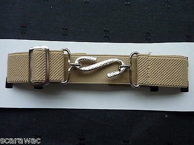 Stretchy Snake Belts/boys/girls/childrens/kids.. Beige ..one Size Adjusts To Fit