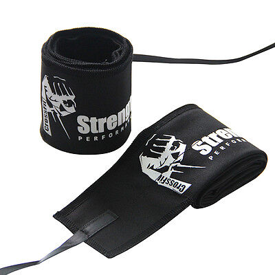 Weight Lifting Wrist Wraps Support Fitness Training Gym Crossfit Bandage Straps